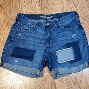 Sz 10 Old Navy, The Boyfriend Shorts